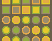Retro grafisch ontwerp Royalty-vrije Stock Fotografie