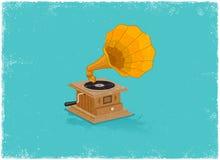 Retro gramaphone Royalty Free Stock Image