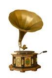 retro grammofon Arkivfoton
