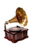 Retro grammofono Fotografia Stock Libera da Diritti