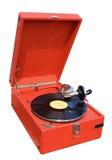 Retro grammofoon Stock Afbeelding
