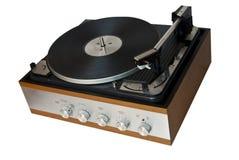Retro grammofoon Royalty-vrije Stock Afbeeldingen