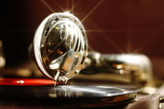 Retro gramophone Royalty Free Stock Photography