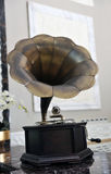 Retro gramophone Stock Photo