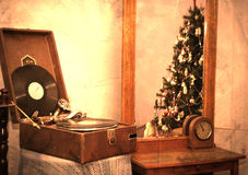 Retro gramophone Royalty Free Stock Photo