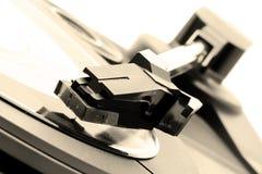 Retro gramophone Stock Image