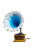 Retro gramophone with disc Stock Photos
