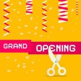Retro Grand Opening Vector Illustration Royalty Free Stock Image