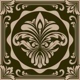 Retro graphic ornament vector illustration