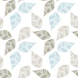 Gray beige blue messy leaves Royalty Free Stock Photo