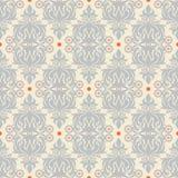 Retro gray and orange pattern Stock Image