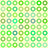 Retro green pattern Royalty Free Stock Image