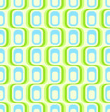 Retro green seamless wallpaper Stock Photos