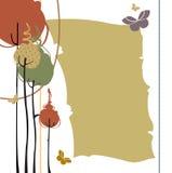 Retro greeting card royalty free illustration
