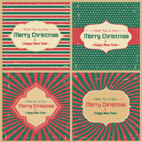 Retro Greeting Cards Royalty Free Stock Photos