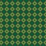 Retro Groen Plaid Abstract Kleurrijk Modieus Net Mesh Pattern Background stock illustratie