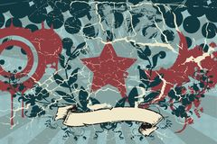 Retro grunge background vector illustration
