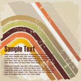 Retro grunge background. For cd cover or flyer Stock Photos