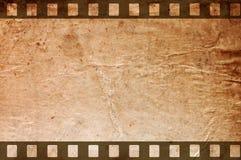 Retro Grunge Background With Film Strips Stock Photo