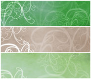 Retro Grunge Banners or headers Royalty Free Stock Photography