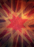 Retro grunge christmas star background Royalty Free Stock Images