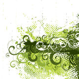 Retro grunge in green stock illustration