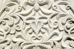 Retro and grunge gypsum tracery Stock Image