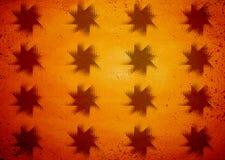 Retro grunge halftone star pattern Royalty Free Stock Photo