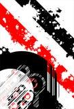 Retro- grunge Hintergrund stock abbildung