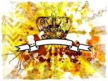 Retro- grunge Hintergrund Lizenzfreies Stockfoto