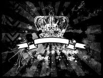 Retro- grunge Hintergrund Lizenzfreies Stockbild