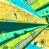 Retro- grunge Hintergrund (Vektor) stock abbildung