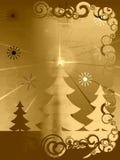 Retro, grunge Kerstmis vector illustratie