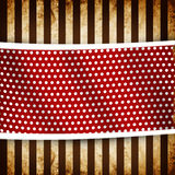 Retro grunge stripes pattern. With white dots vector illustration