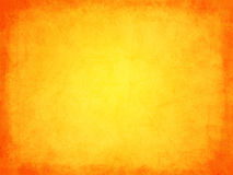 Retro grunge texture orange with border Stock Photo