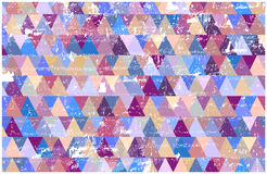 Retro grunge triangles background Royalty Free Stock Photography