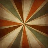 Retro grungy abstrakt bakgrund med strålar. Royaltyfria Bilder
