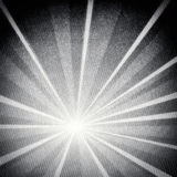 Retro grungy rays pattern background Stock Image