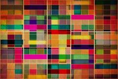 Retro Grungy Wallpaper Pattern Stock Photos