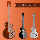 Retro guitars Royalty Free Stock Images