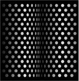 Retro- Halbtonauslegung des Punktes Stockbild
