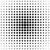 Retro halftone circle pattern background from dots. Retro halftone circle pattern background - vector illustration from dots Stock Photography