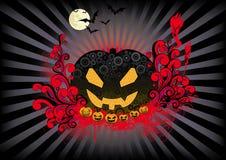 Retro Halloween royalty free illustration