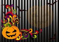 Retro- Halloween Stock Abbildung