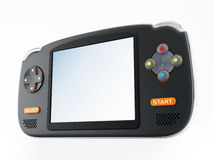 Retro handheld video game device Royalty Free Stock Photo