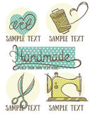 Retro handmade Royalty Free Stock Images