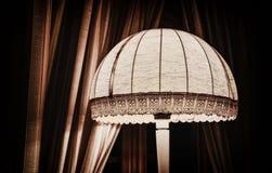 Retro handmade lampshade Royalty Free Stock Photos