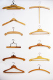 Retro hangers background Royalty Free Stock Photos