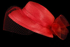 Retro Hat with Netting Royalty Free Stock Photography