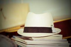Retro hat Stock Images